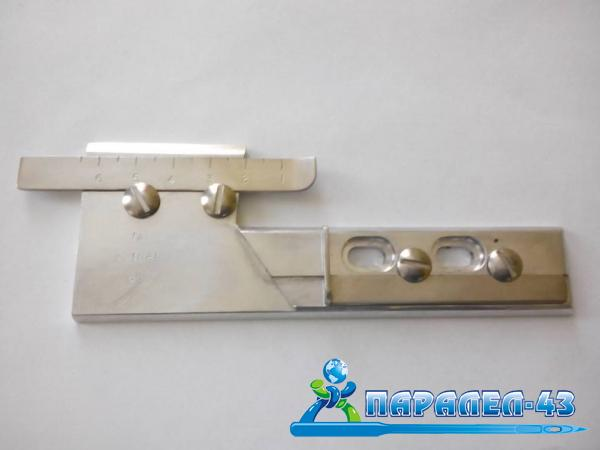 Single hem attachment for coverstitch sewing machines