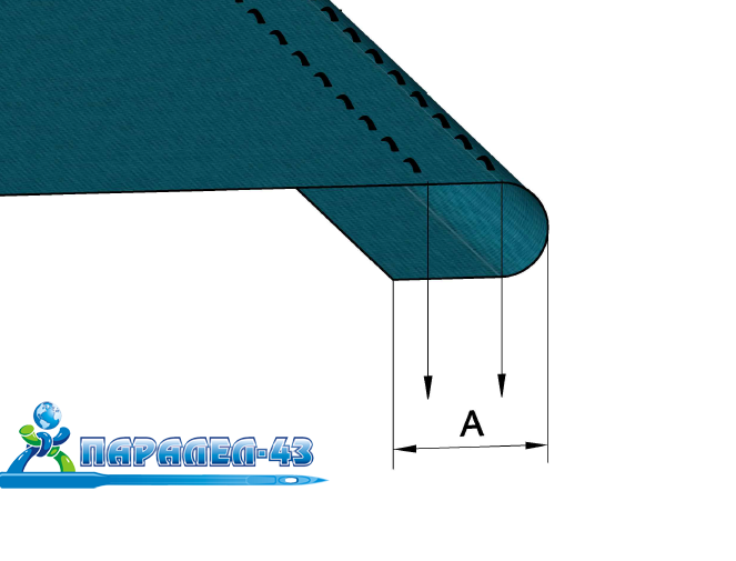 product scheme Single hem attachment for coverstitch sewing machines
