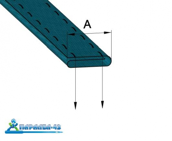 product scheme Pocket fold attachment for double needle sewing machines