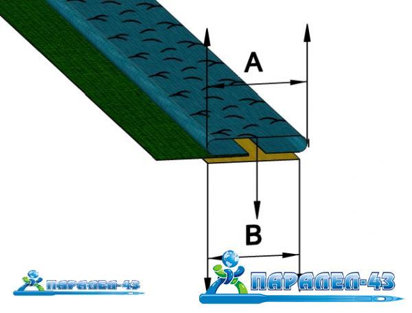 схема за продукт Фуния за прикачване и подгъване на допълнителна лента