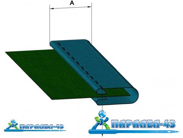 схема за продукт Фуния за обточване за права машина при прави участъци