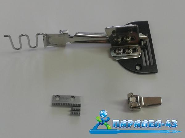 Фуния за обточване с веревна лента за права машина