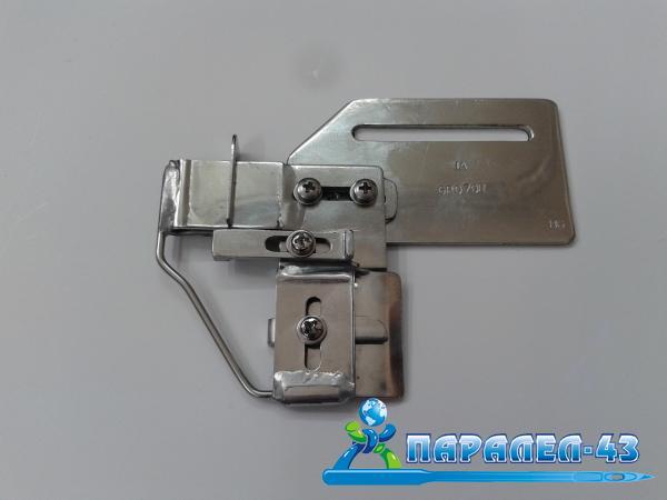 Водач за пришиване на допълнителни ленти за права машина