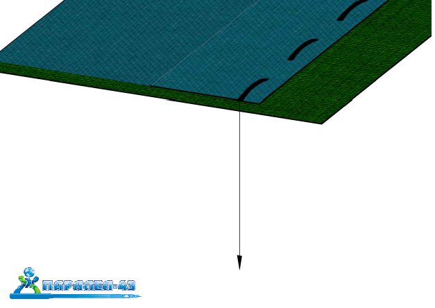 product scheme Sewing on sleeves attachment (english seam)