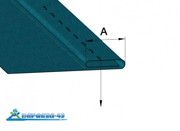 product scheme Double hem funnel attachment for straight stitch sewing machines