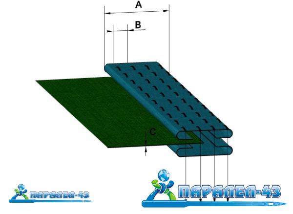 схема за продукт Фуния за изработване на колан