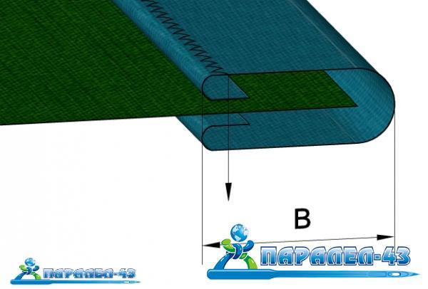 схема за продукт Фуния за двойно обточване