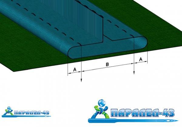 схема за продукт Фуния за изработване на двойна филетка